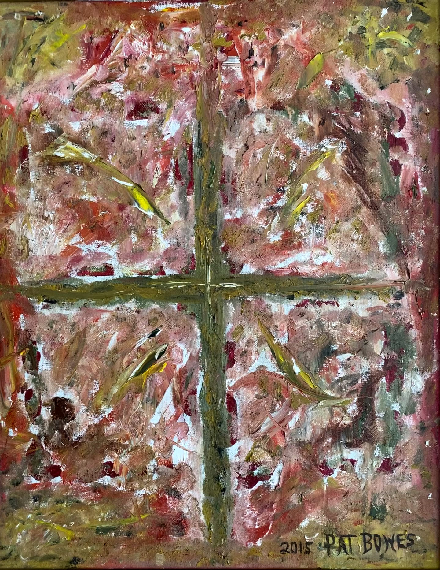 Abstract Crucifix